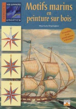 Motifs marins en peinture sur bois - fleurus - 9782215076582 -