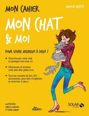 Mon cahier mon chat et moi - solar - 9782263146510 -
