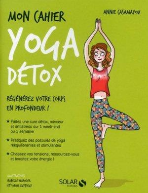 Mon cahier yoga detox - solar - 9782263150173 -
