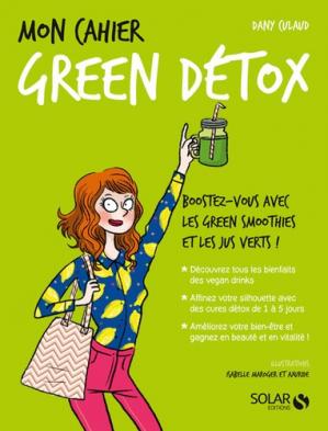 Mon cahier green détox - solar  - 9782263150692 -