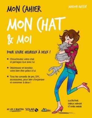 Mon cahier mon chat et moi - solar  - 9782263151880 -