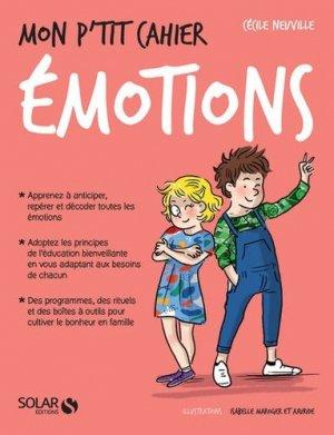 Mon p'tit cahier émotions - solar - 9782263153464 -