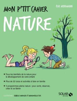 Mon p'tit cahier nature - solar - 9782263159954 -