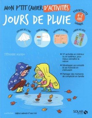 Mon p'tit cahier d'activités jour de pluie - Solar - 9782263168925 -