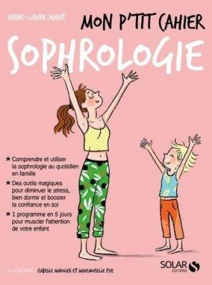 Mon p'tit cahier sophrologie - solar - 9782263169359 -