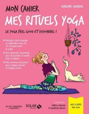 Mon cahier mes rituels yoga - Solar - 9782263169984 -