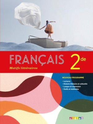 Motifs littéraires 2de 2019 - Didier - 9782278093793 -