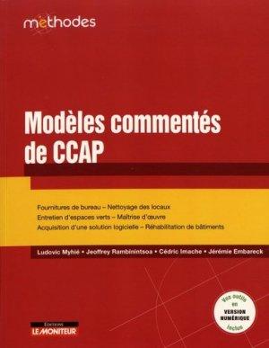 Modèles commentés de CCAP - le moniteur - 9782281133172 -