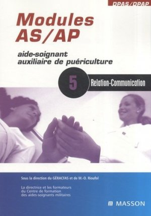 Modules AS / AP 5 Relation - Communication - elsevier / masson - 9782294084058 -