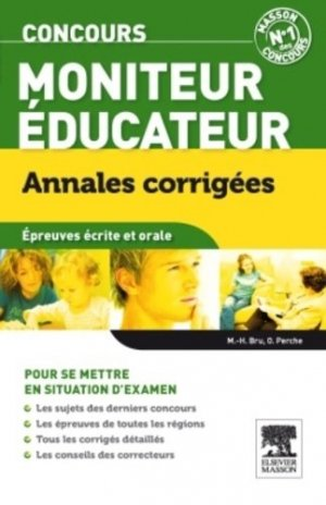 Moniteur - Éducateur - elsevier / masson - 9782294715921 -