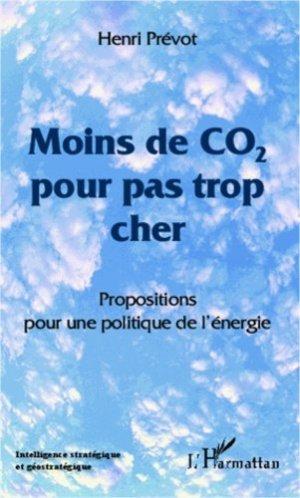 Moins de CO2 pour pas trop cher - l'harmattan - 9782296997592 -