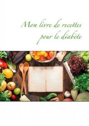 Mon livre de recettes pour le diabète - Books on Demand Editions - 9782322272167 -