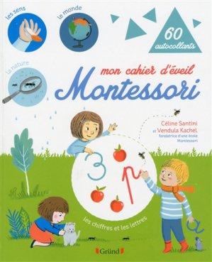 Mon cahier d'éveil  Montessori - gründ - 9782324019975 -