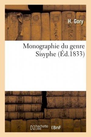 Monographie du genre Sisyphe - hachette/bnf - 9782329413969 -