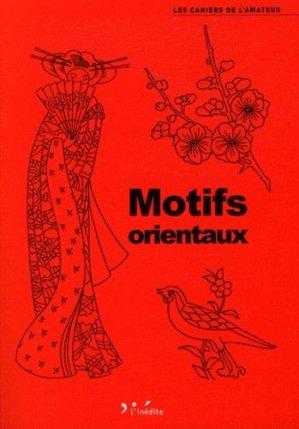 Motifs orientaux - L'Inédite - 9782350322322 -