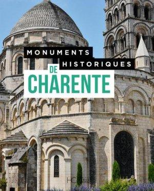 Monuments historiques de Charente - hc - 9782357204867 -