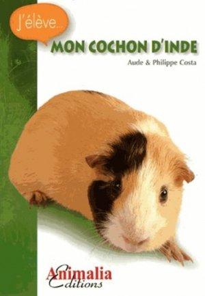 Mon cochon d'Inde - animalia - 9782359090208 -