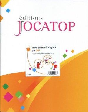 Mon année d'anglais au CM1 - Editions Jocatop - 9782363951632 -