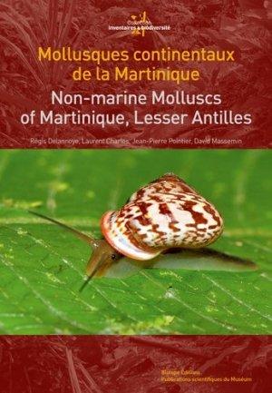 Mollusques continentaux de la Martinique - biotope - 9782366620139 -