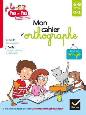 Mon cahier d'orthographe - hatier - 9782401050686 -