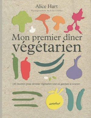 Mon premier dîner végétarien - Marabout - 9782501069557 -