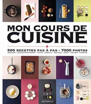 Mon cours de cuisine - Marabout - 9782501075190 -