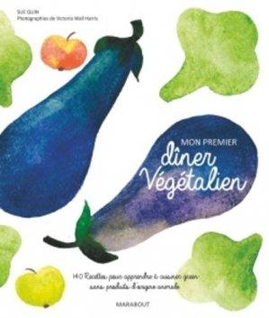 Mon premier dîner végétalien - Marabout - 9782501091237 -