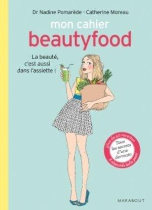 Mon cahier Beautyfood - Marabout - 9782501101257 -