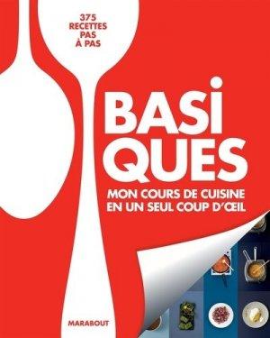 Mon cours de cuisine basiques - Marabout - 9782501118682 -