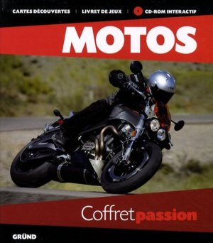 Motos. Coffret passion, avec 1 CD-ROM - Gründ - 9782700027563 -