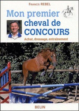 Mon premier cheval de compétition - belin - 9782701138527 -