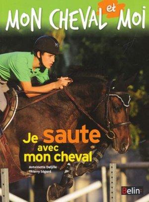 Je saute avec mon cheval - belin - 9782701162973 -