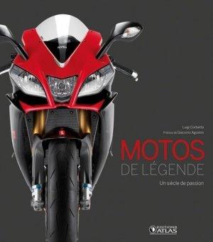 Motos de légende - atlas  - 9782723497527 -