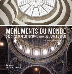 Monuments du monde - de la martiniere - 9782732445663 -