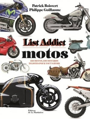 Motos, List addict - de la martiniere - 9782732482477 -