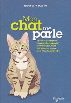Mon chat me parle - de vecchi - 9782732896748 -
