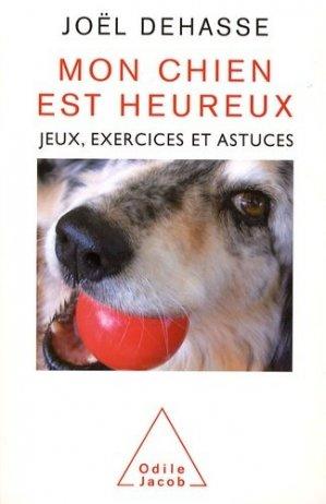 Mon chien est heureux - odile jacob - 9782738122162 -