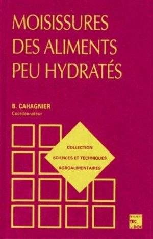 Moisissures des aliments peu hydratés - lavoisier / tec et doc - 9782743002091 -