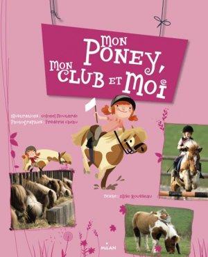 Mon poney, mon club et moi - milan - 9782745956682 -