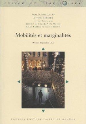 Mobilités et marginalités - presses universitaires de rennes - 9782753575905 -