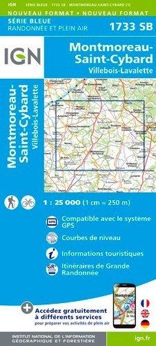 Montmoreau St Cybard Villebois Lavalette 1 25 000 1 25 000 Ign