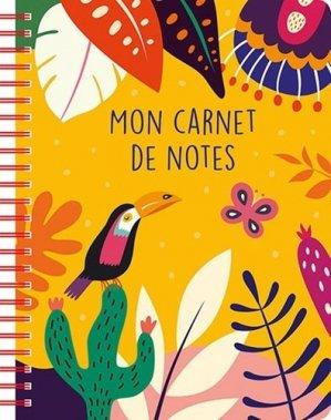 Mon carnet de notes - Chantecler - 9782803462032 -