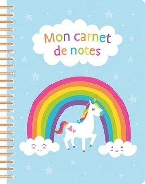 Mon carnet de notes - Chantecler - 9782803462056 -
