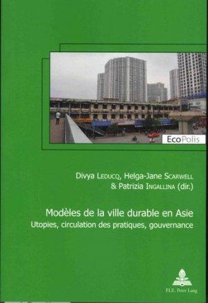 Modèles de la ville durable en asie - peter lang - 9782807604247 -