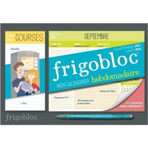 Mon Frigobloc hebdomadaire - Play Bac - 9782809675276 -