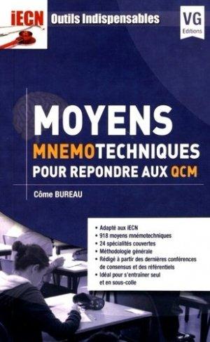 Moyens mnémotechniques pour répondre aux QCM - vernazobres grego - 9782818315507
