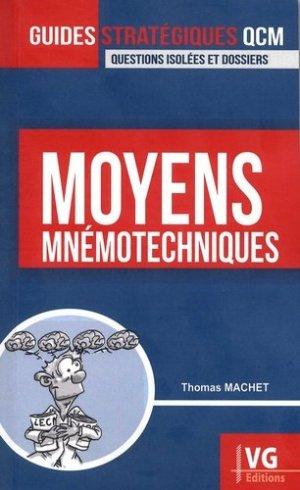 Moyens mnémotechniques - vernazobres grego - 9782818316733 -