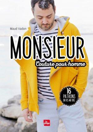 Monsieur - Couture pour homme - La Plage - 9782842216429 -