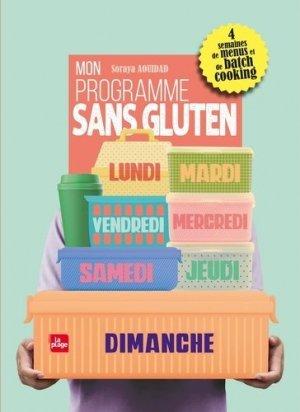 Mon programme sans gluten - la plage - 9782842216559 -