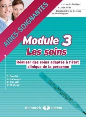 Module 3 Les soins - estem - 9782843717147 -